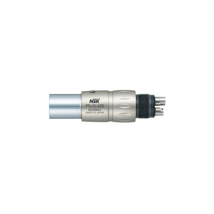 Szybkozłączka PTL-CL-LED, z podświetlaniem diodowym, tytanowa